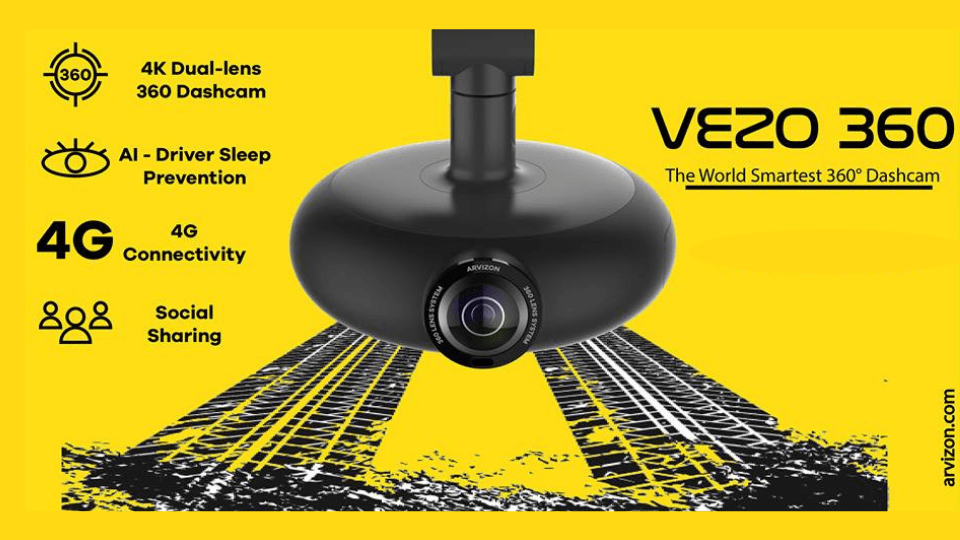 The Best Affordable Dash Cam – Vezo 360
