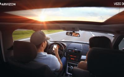 How A Smart Dash Cam Like Vezo 360 Enhances Road Safety